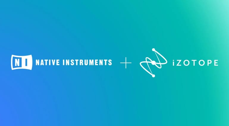 Native Instruments and iZotope