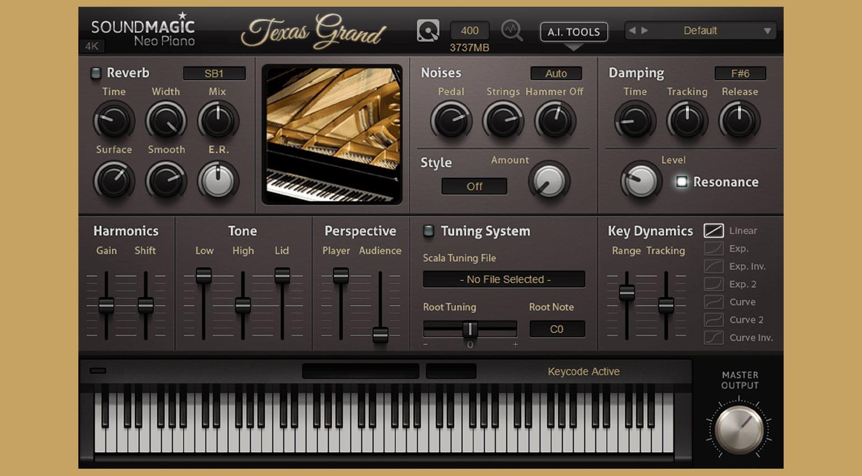Nameless Grand: unique hybrid piano combination from Sound Magic