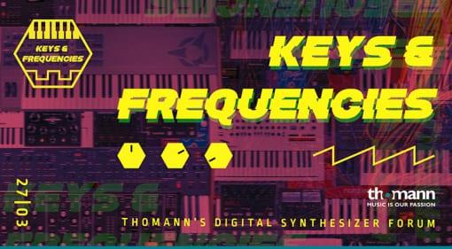 Thomann Keys and Frequencies