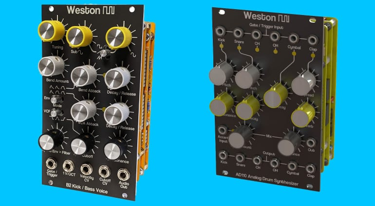 Weston Precision Audio B2 and AD110