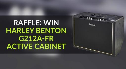 Raffle Win Harley Benton G212-FR Active Cabinet