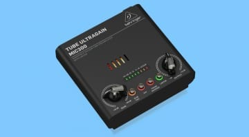 Behringer MIC300 Tube Ultragain featured