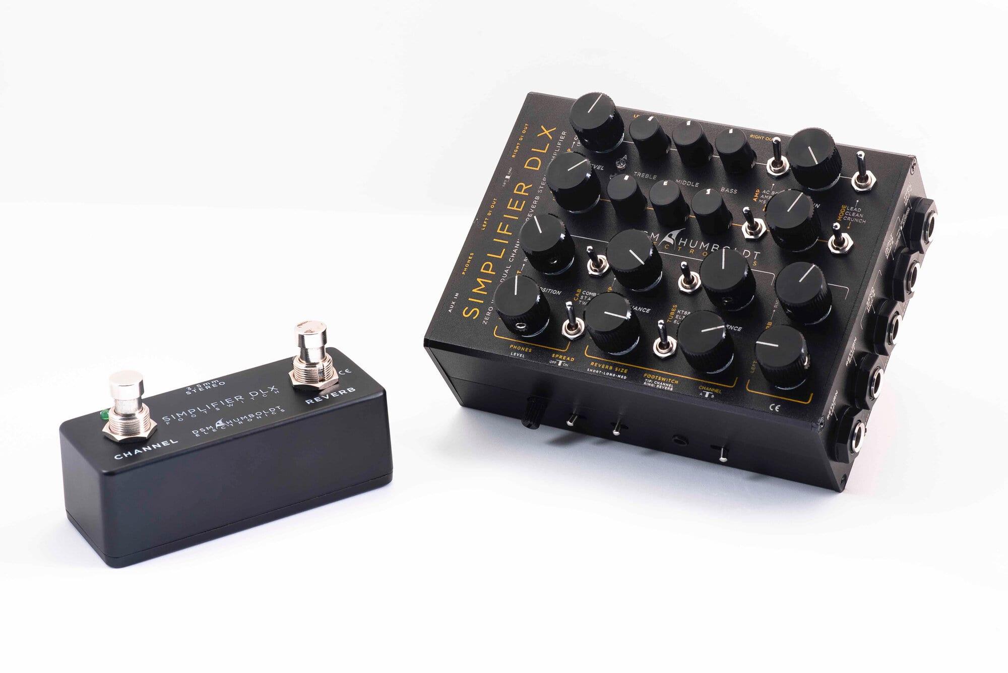 DSM & Humboldt Simplifier DLX a Zero Watt atwinn channel amp