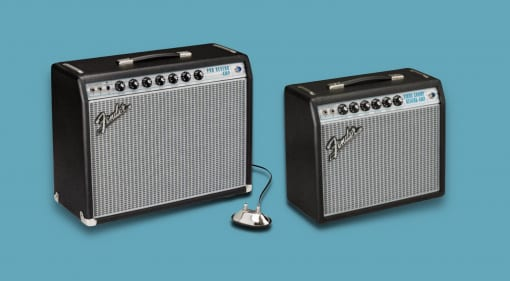 Fender Silverface Vibro Champ and Pro Reverb '68 Custom series