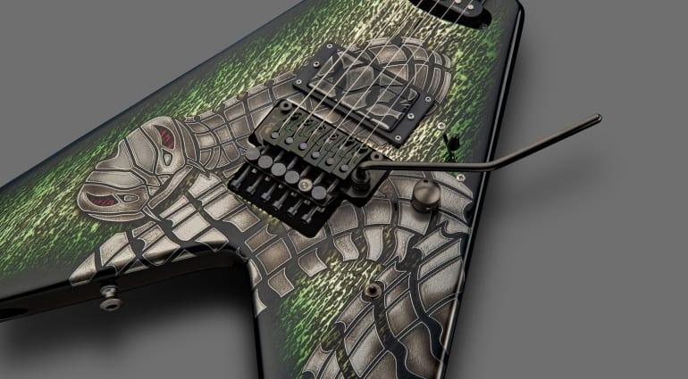 Framus Custom Shop WH-1 Signature Special Bionic Snake