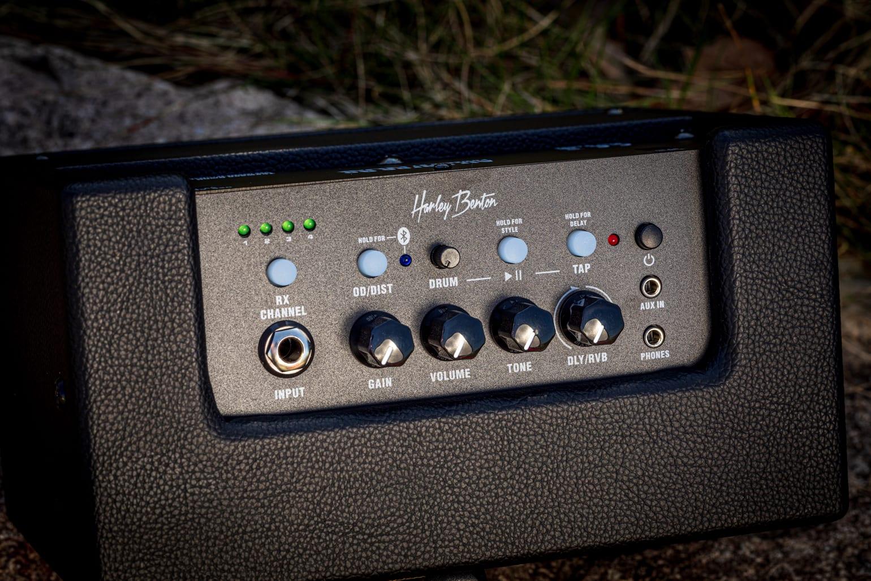 Harley Benton AirBorne Go control panel