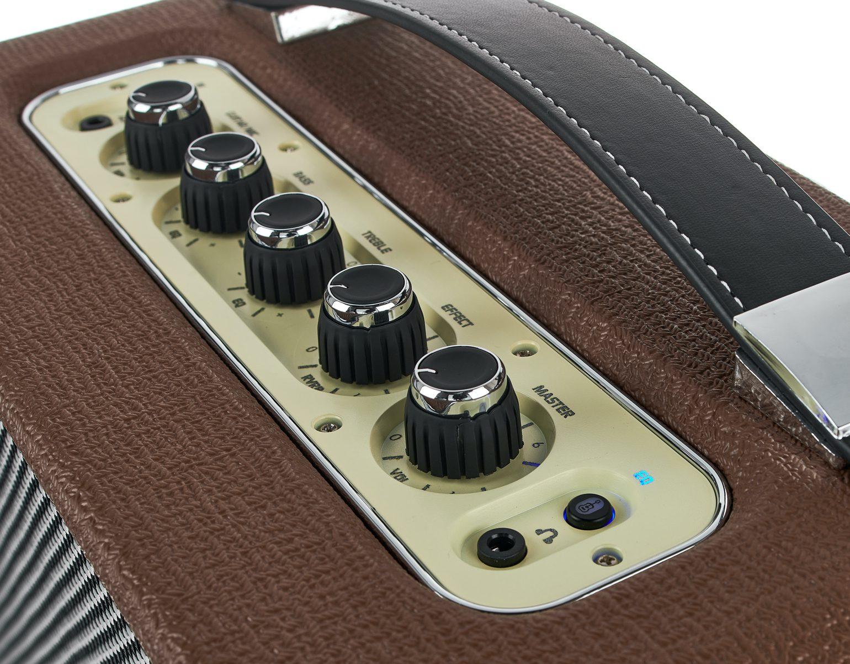 Harley Benton TableAmp V2 new retro-styled desktop amplifier control panel