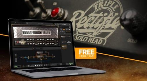 IK Multimedia is giving away AmpliTube MESA/Boogie Triple Rectifier Head for free
