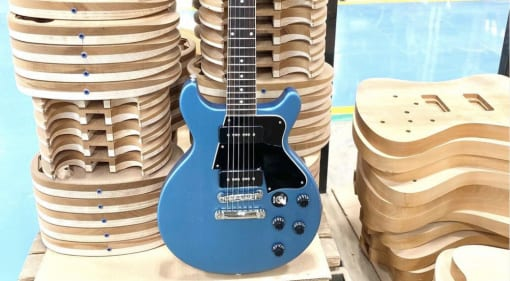 Rick Beato's Gibson LP Special signature model is in production