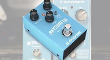 TC Electronic Skysurfer Mini Reverb- A compact yet full sounding digital reverb