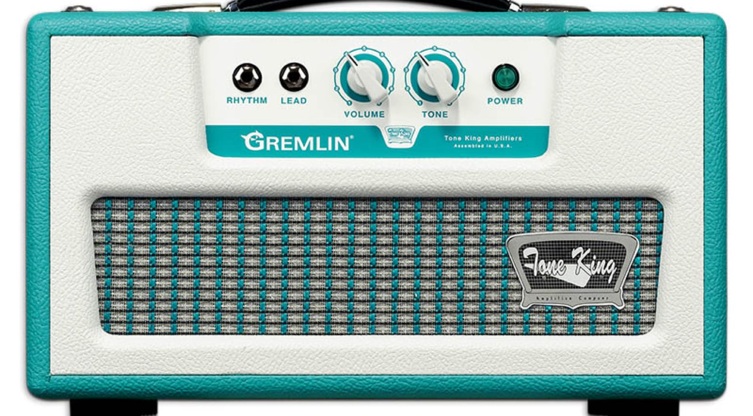 Tone King Gremlin Head in Turquoise