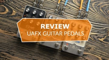 UAFX Pedals Review Golden Reverberator Starlight Echo Astra Modulation Machine N2