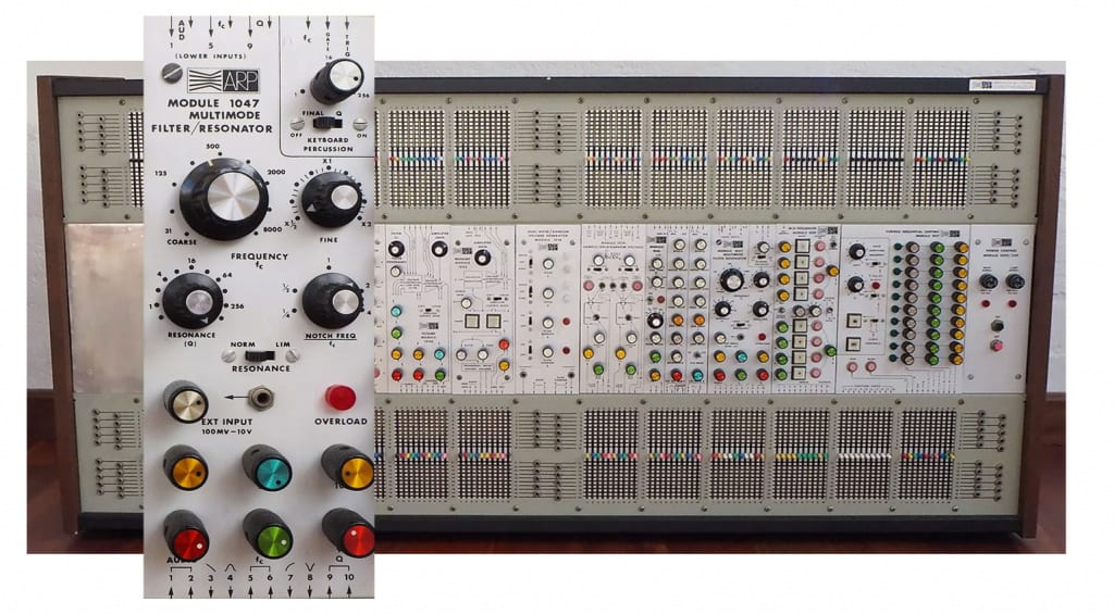 ARP 2500 and the 1047 Multimode filter