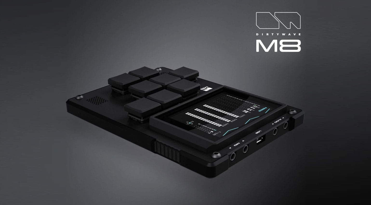Dirtywave M8: Handheld synthesizer, sampler and tracker open for preorders