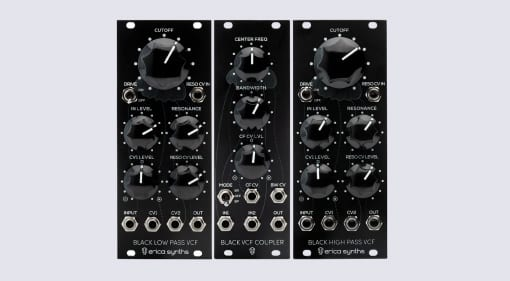 Erica Synths Black Filters