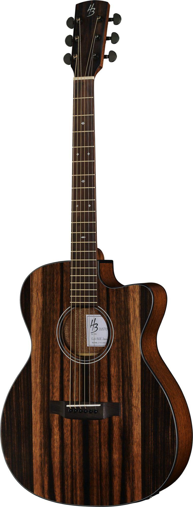 Harley Benton Exotic Wood Custom Line java Ebony