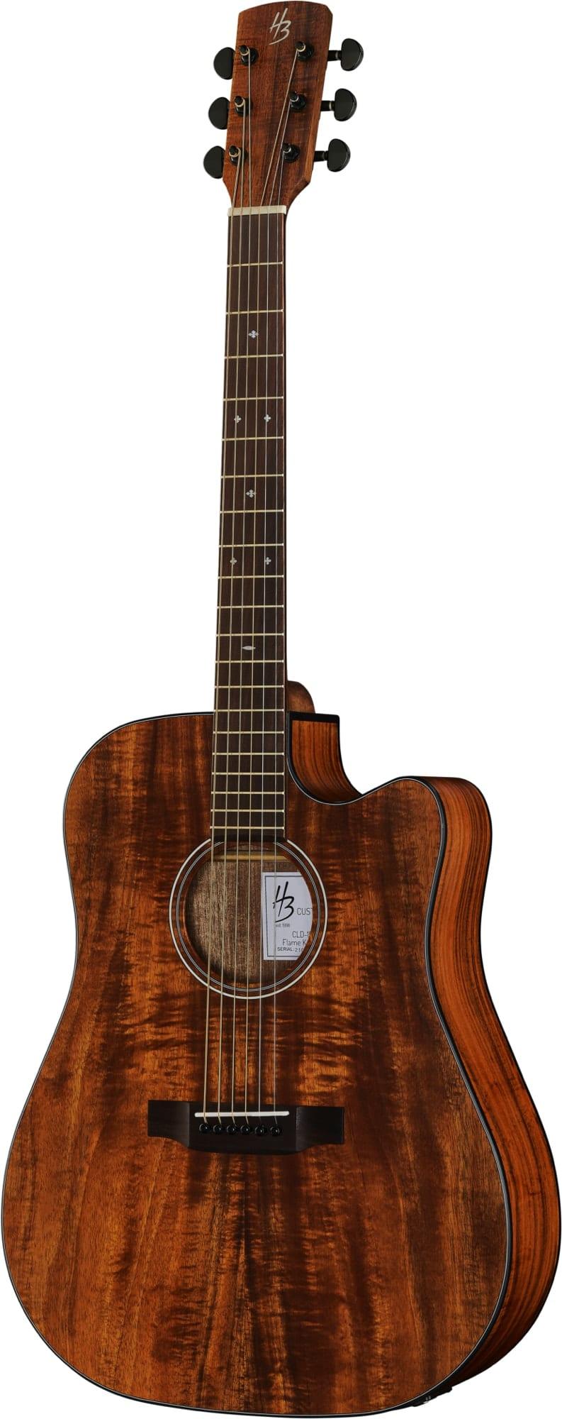 Harley Benton Exotic Wood Custom Line. Flamed Koa