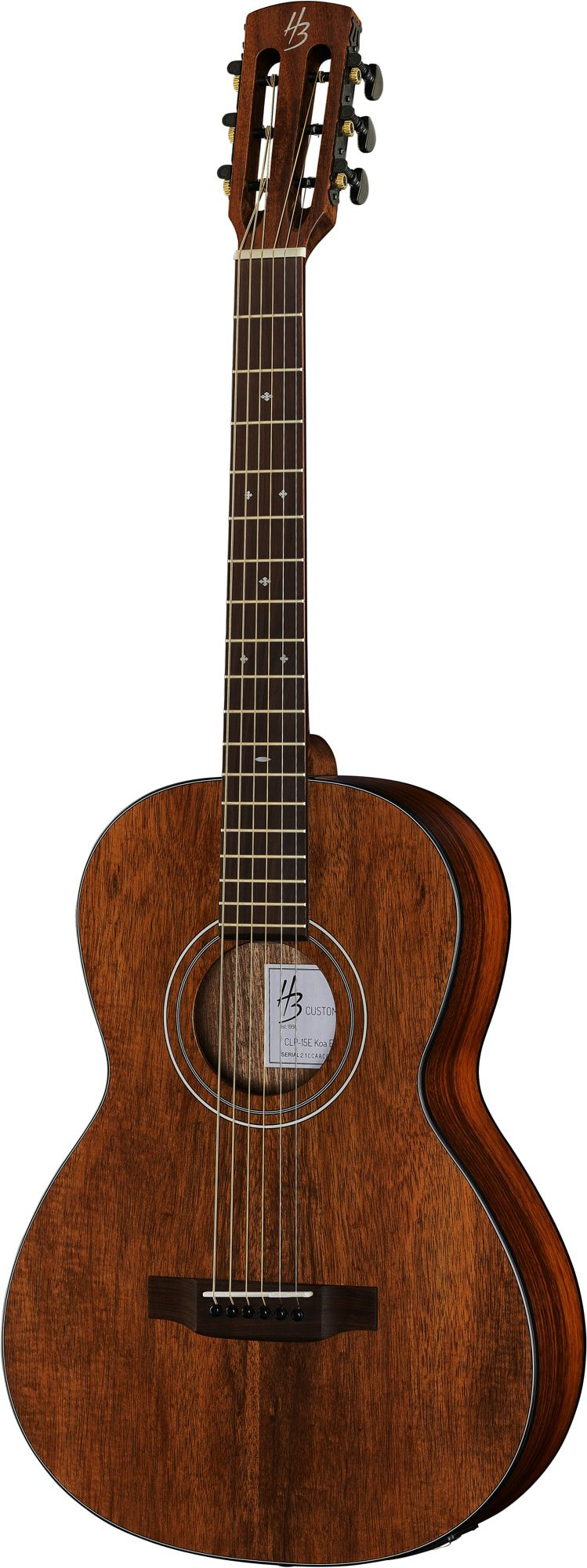 Harley Benton Exotic Wood Custom Line Koa top