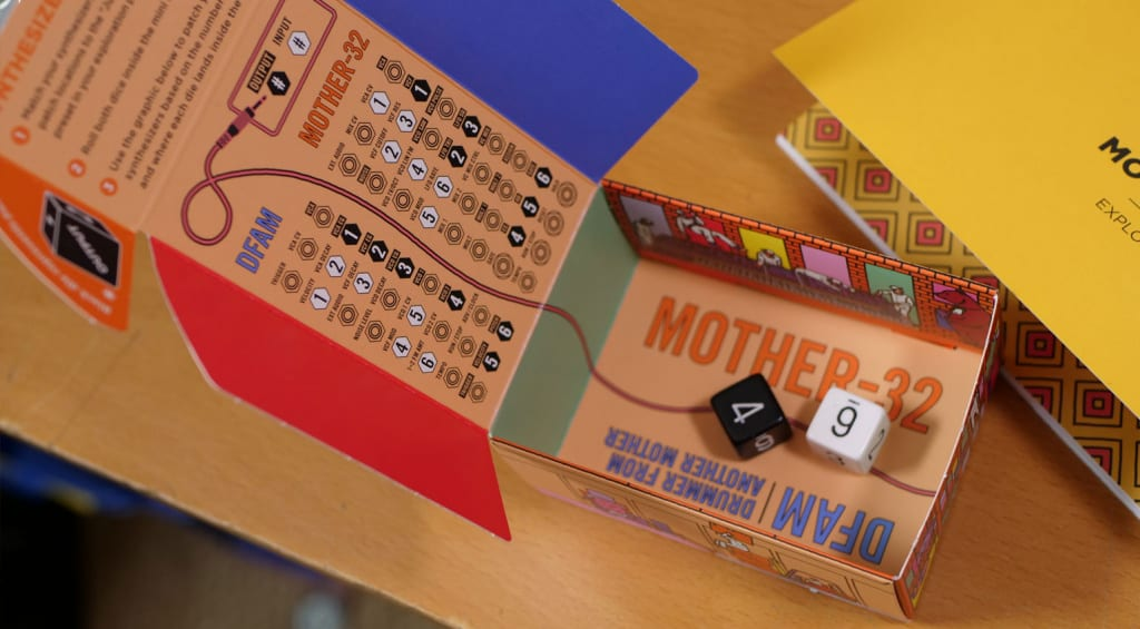 Synthesizer Dice Game