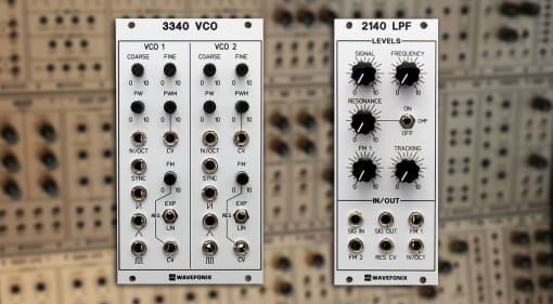 Wavefonix 3340 Dual VCO and 2140 LPF