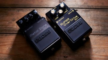 Boss Anniversary MT2 and SD1 pedals