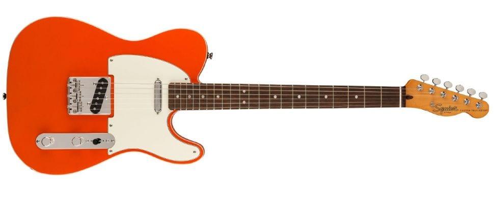 Squier Classic Vibe 60s Custom Tele Candy Tangerine