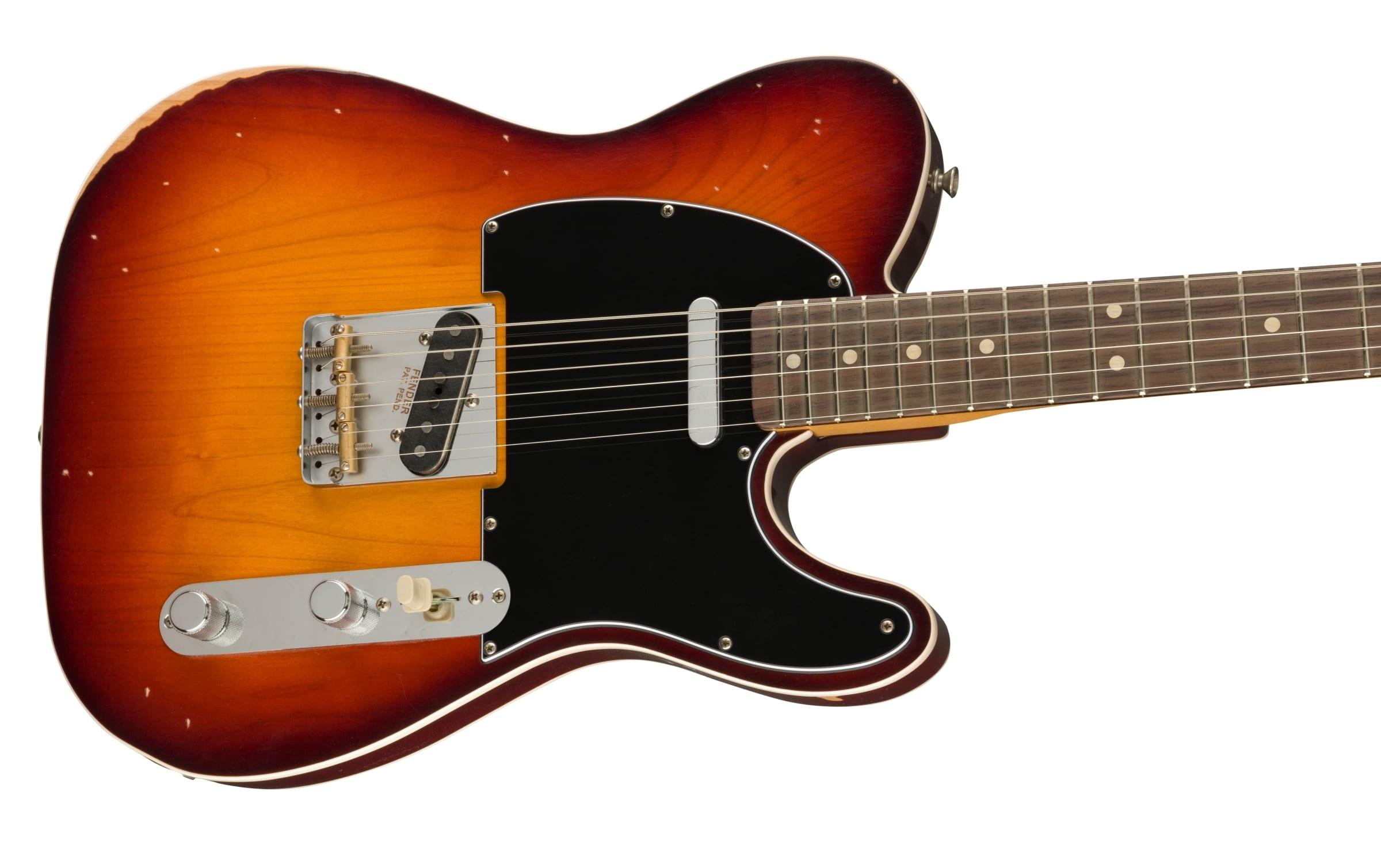Fender Road Worn Jason Isbell Signature Custom Telecaster with aged finish