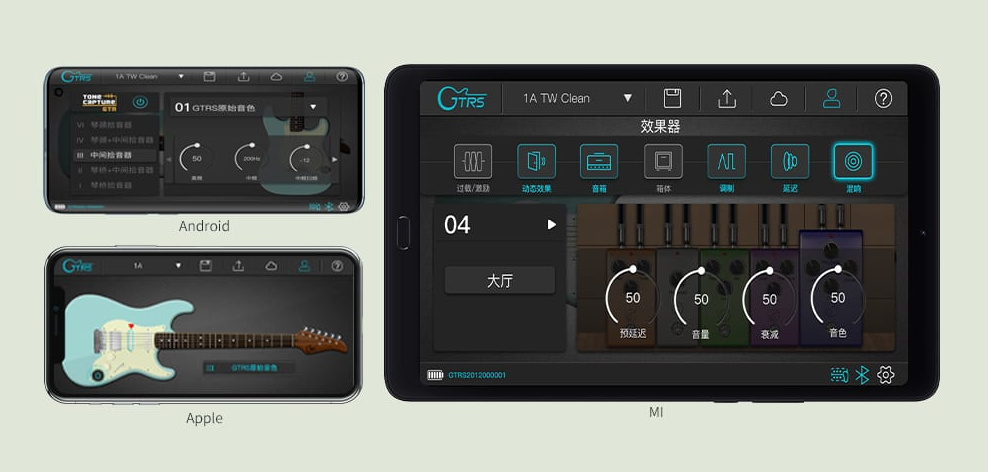 GTRS App for Android and iOS