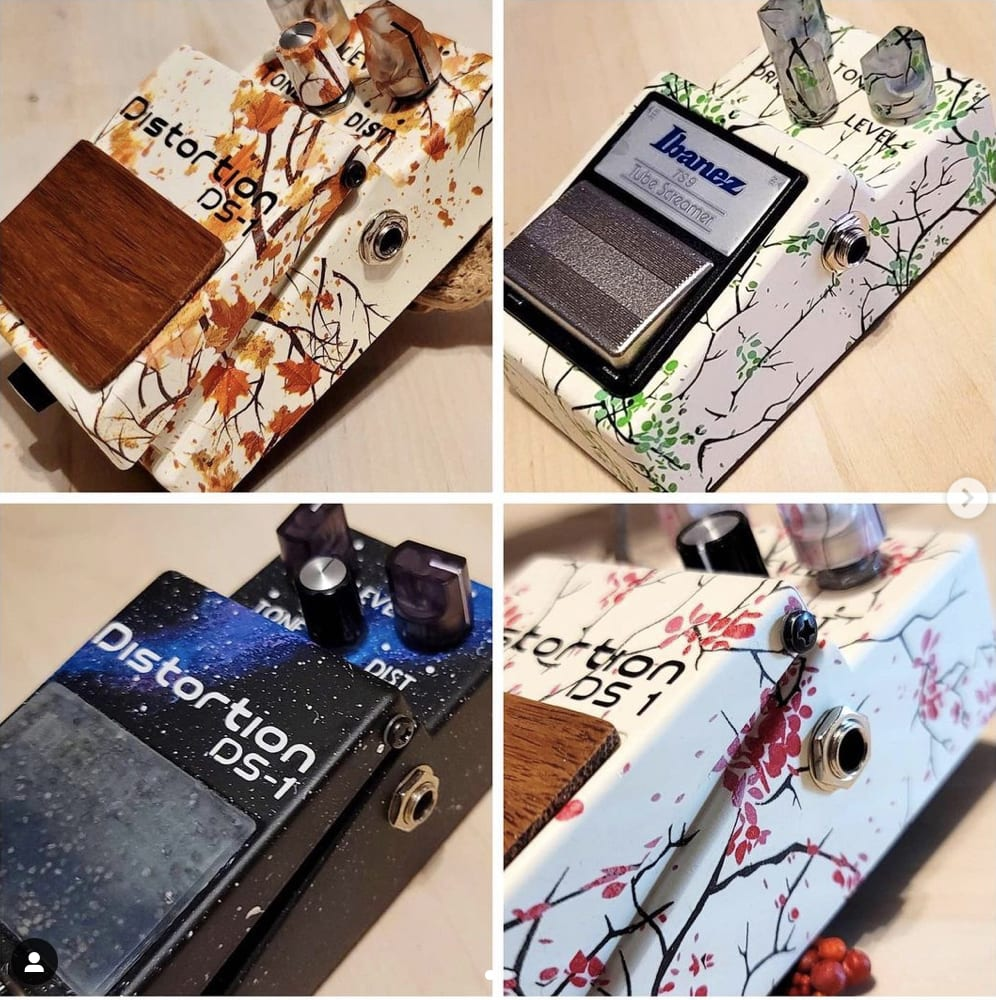 Gear Ant customises classic effects pedals