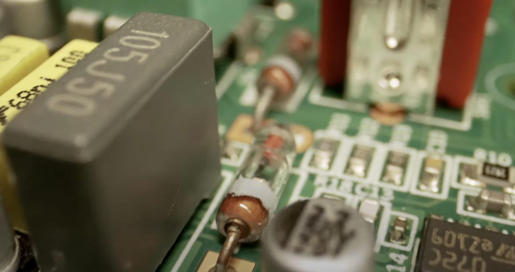 TC Electronic Zeus Drive Germanium Diodes