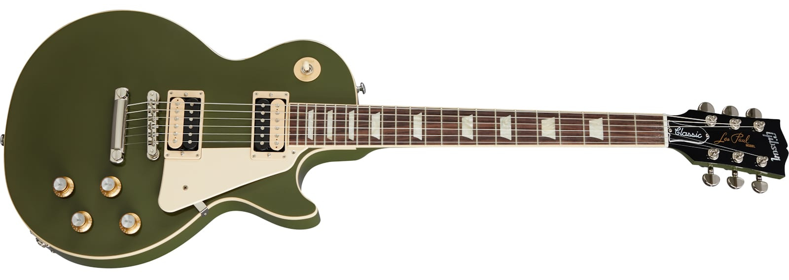 Gibson Olive Drab Les Paul Classic