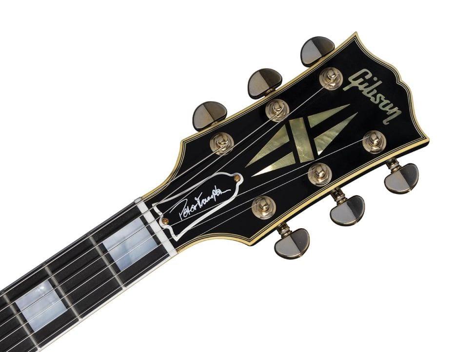 Gibson Peter Frampton Phenix Les Paul Custom headstock