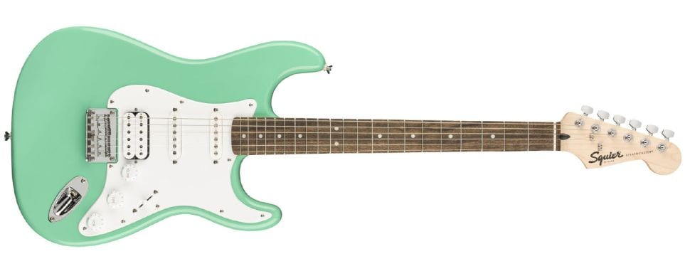 Squier HSS Stratocasters Seafoam Green