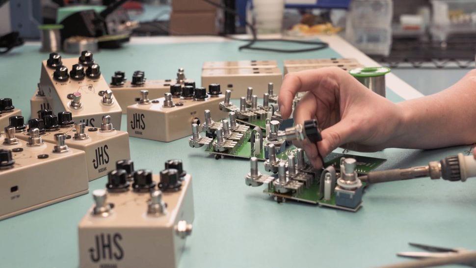 JHS building pedals