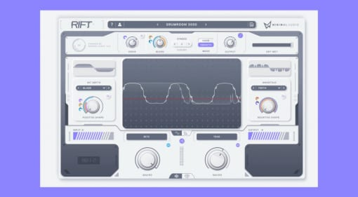 Minimal Audio Rift Distortion Plug-in