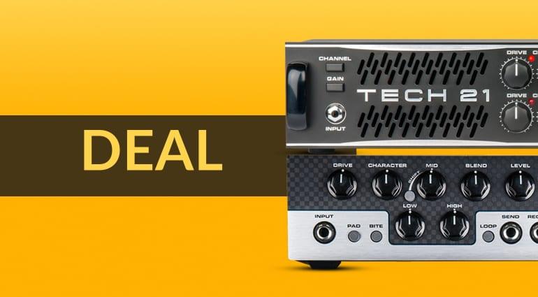 Tech 21 VT Bass 500:1000 & speakers