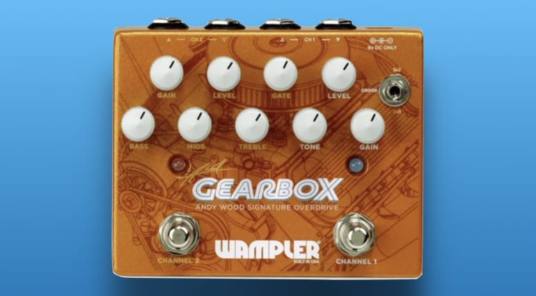 Wampler Andy Wood Gearbox Signature Overdrive