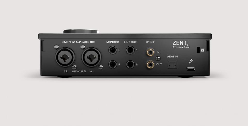 Antelope Audio Zen Q Synergy Core - rear
