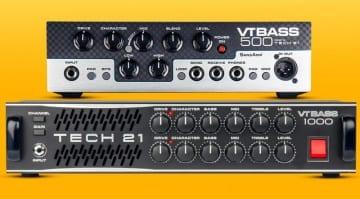 Tech 21 VT Bass 500 and the VT Bass 1000