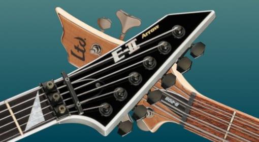 DEAL: 27x ESP E-II and LTD guitars and basses