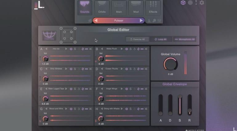 Lunacy Audio Cube Instrument window