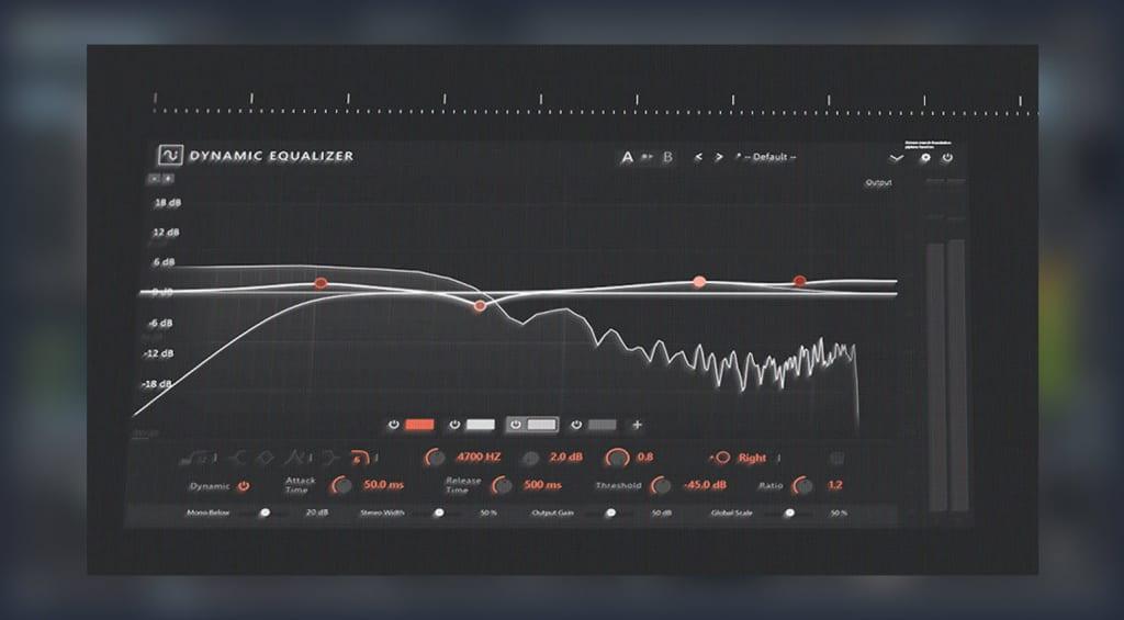 Samplitude Pro X6 dynamic EQ