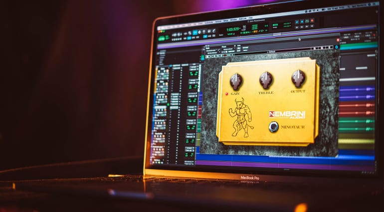 Free of charge: Nembrini Audio is giving away the Clon Minotaur Overdrive Plug-in
