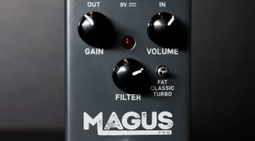 tc electronic magus distortion pedal