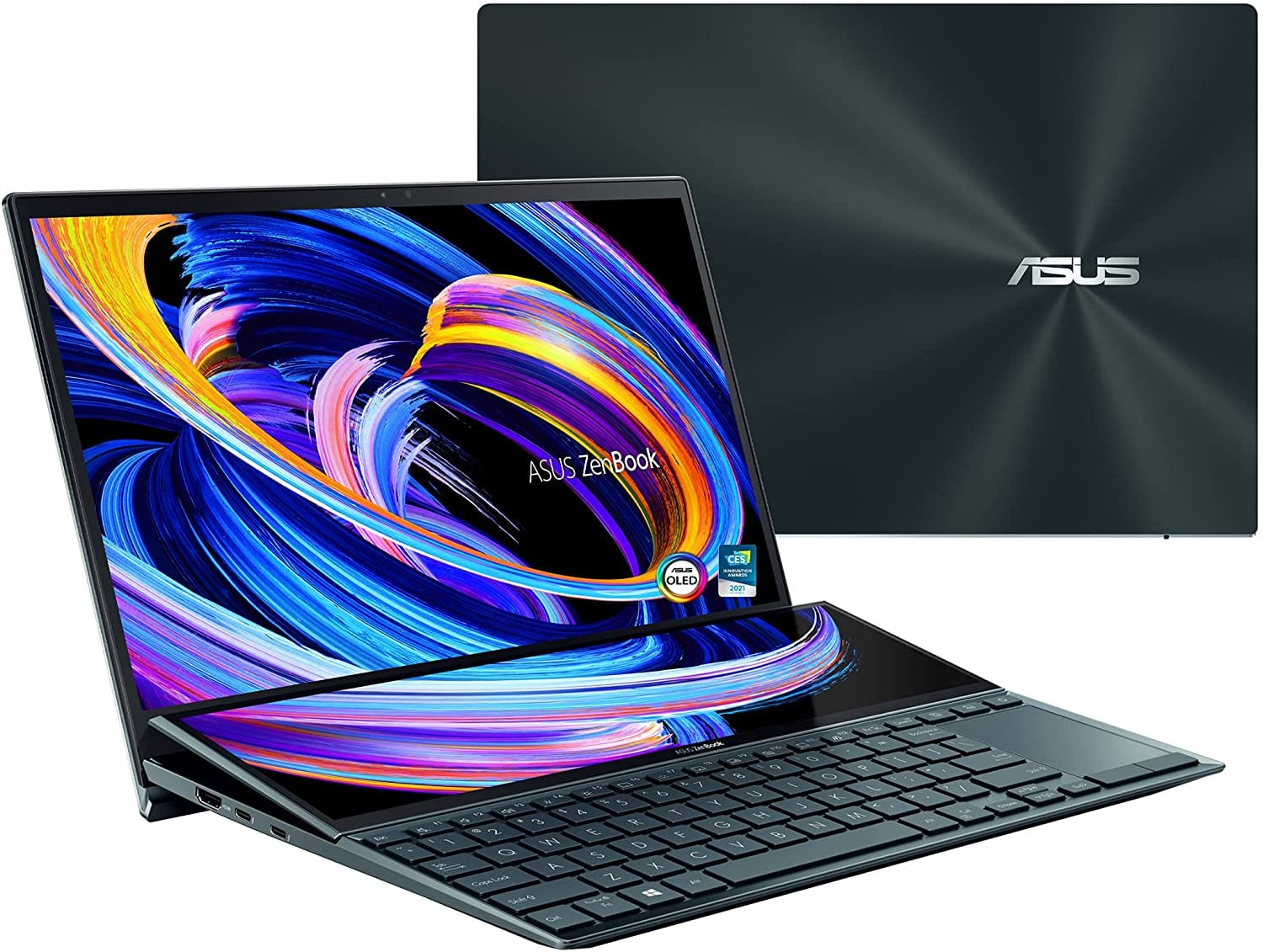 Asus Zenbook Pro Duo UX581: One of the best Windows laptops for music.