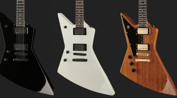 Affordable new Harley Benton axes for Left-handed rockers EX-76 and EX-84