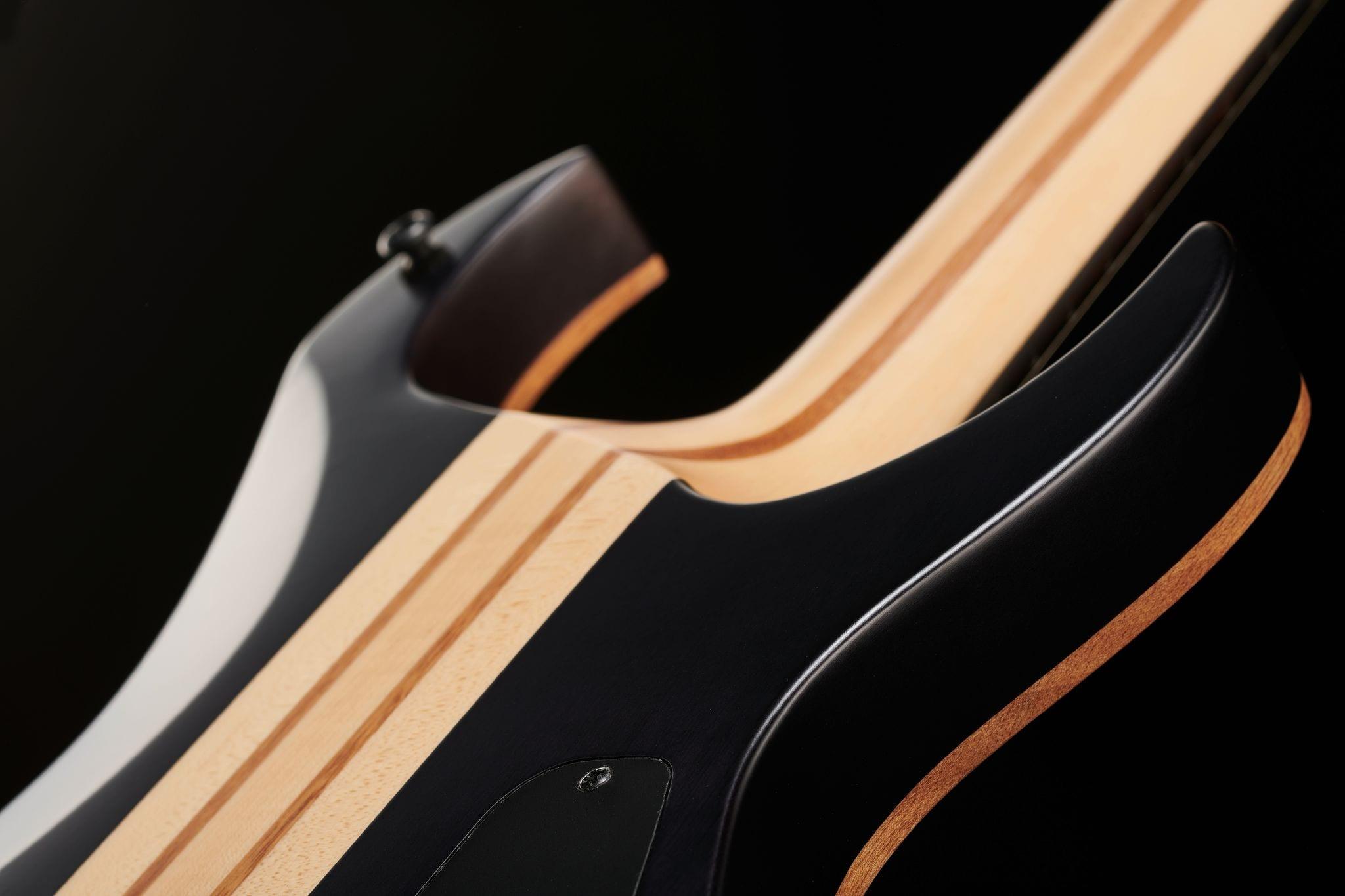 Amarok-BT LH baritone guitar rear