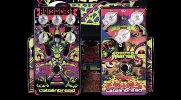 Catalinbread'sRitchie Blackmore inspiredDreamcoat and Skewer pedals