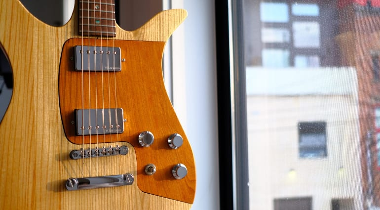 Fern Guitars The Phoenix all wood modular guitar