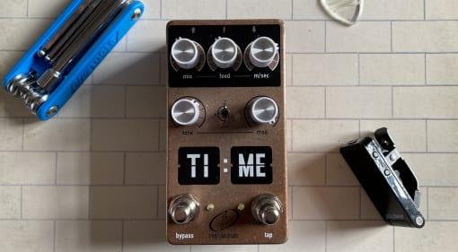 First Look- Crazy Tube Circuits TI-ME a retro digital delay
